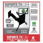 Suporte para tv articulável e reclinável 19 a 50' SS3500 Sulforte