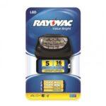 Lanterna cabeça 5 LEDs Rayovac