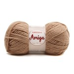 Lã amiga Bege amêndoa-7650 Círculo